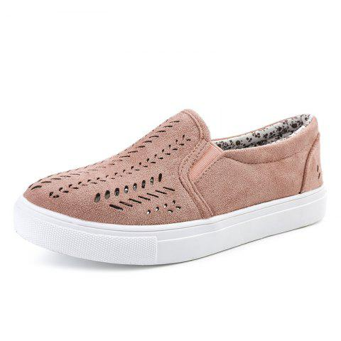 Women Hollow Design Flat Shoes Casual Loafers