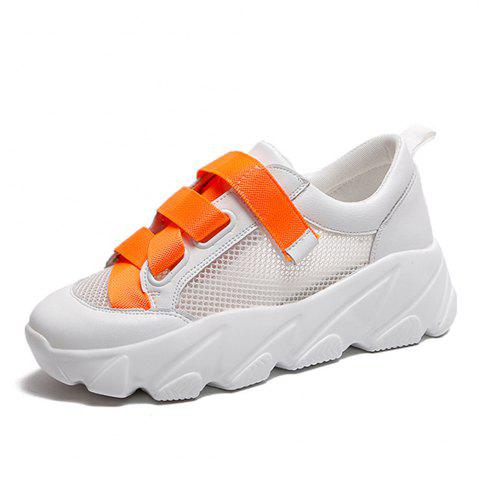 Summer New Mesh Hollow Breathable Low-top Sports Shoes for Women