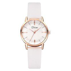 Disu Ds177 Fashion Trend Casual Ladies Watch -