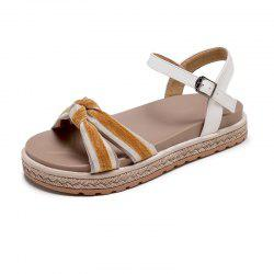 Flat Comfortable Bow Women Sandals -