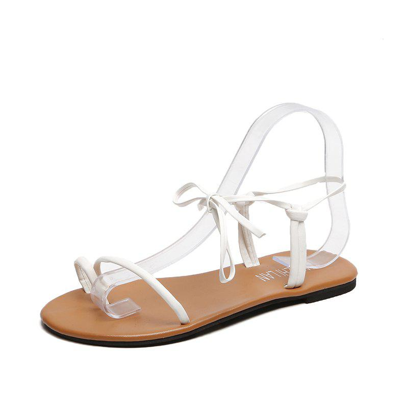 Outfits Flat Bottom Bow Female Sandals