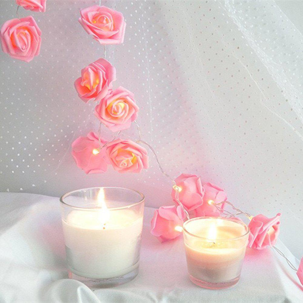 Chic 3m 20-LED Rose Style USB String Light for Decoration
