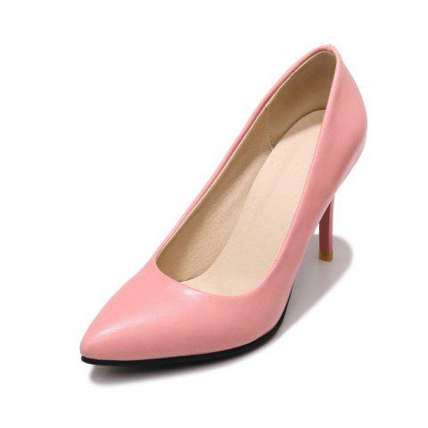 New Pointed Toe Pure Color Commuting Stilettos Heels Lady Pumps
