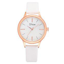 Disu Ds174 Two-color Mirror Simple Casual Ladies Watch -