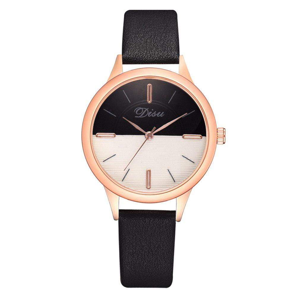 Online Disu Ds174 Two-color Mirror Simple Casual Ladies Watch