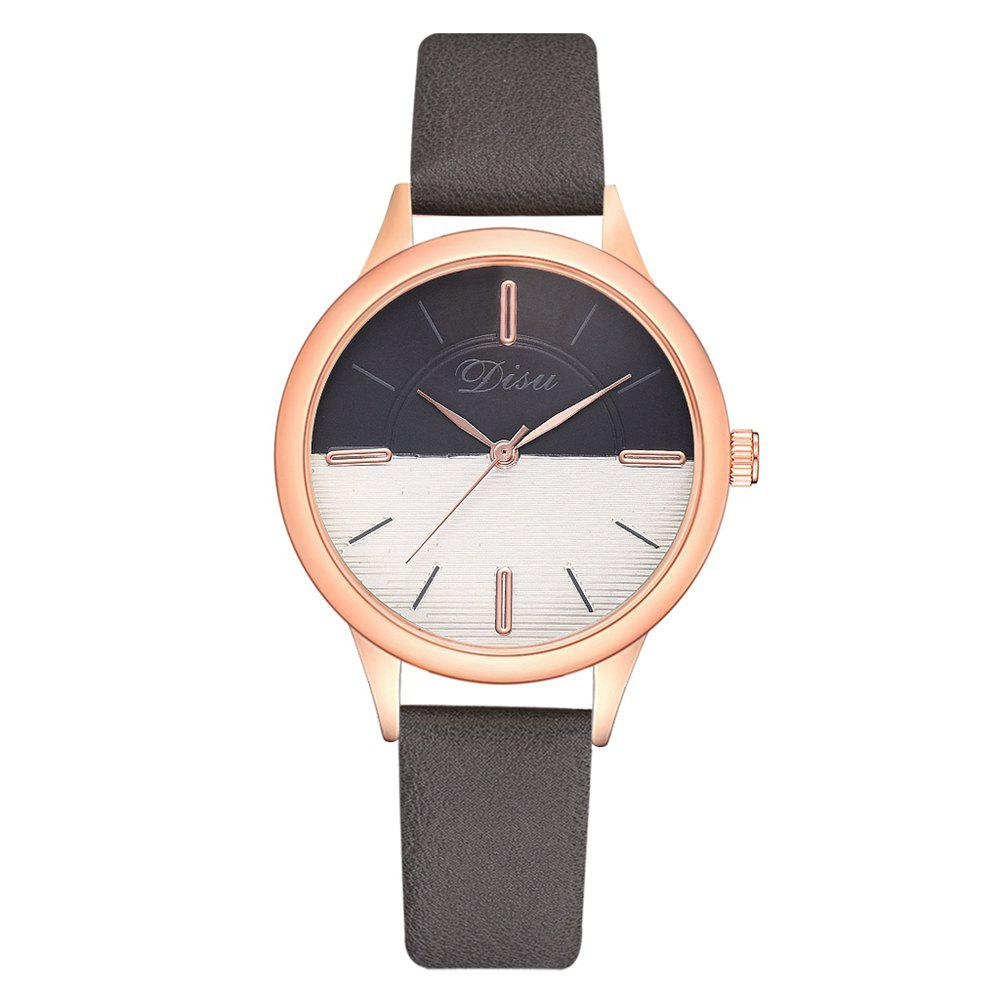 Outfits Disu Ds174 Two-color Mirror Simple Casual Ladies Watch