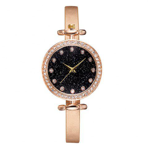 Disu Ds178 Simple and Small Fresh Literary Style Starry Watch