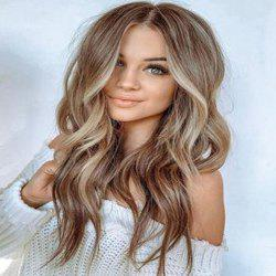 European and American Big Wave Long Curly Hair Wig -