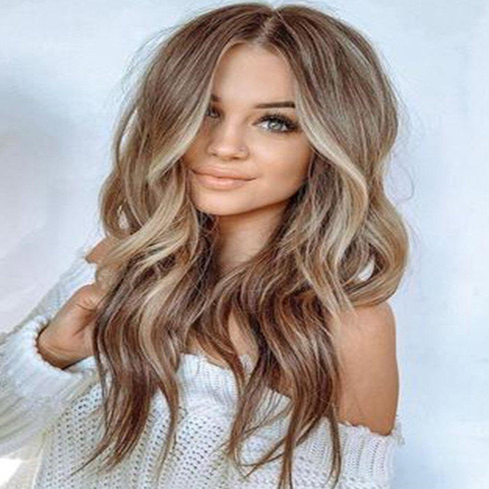 Affordable European and American Big Wave Long Curly Hair Wig