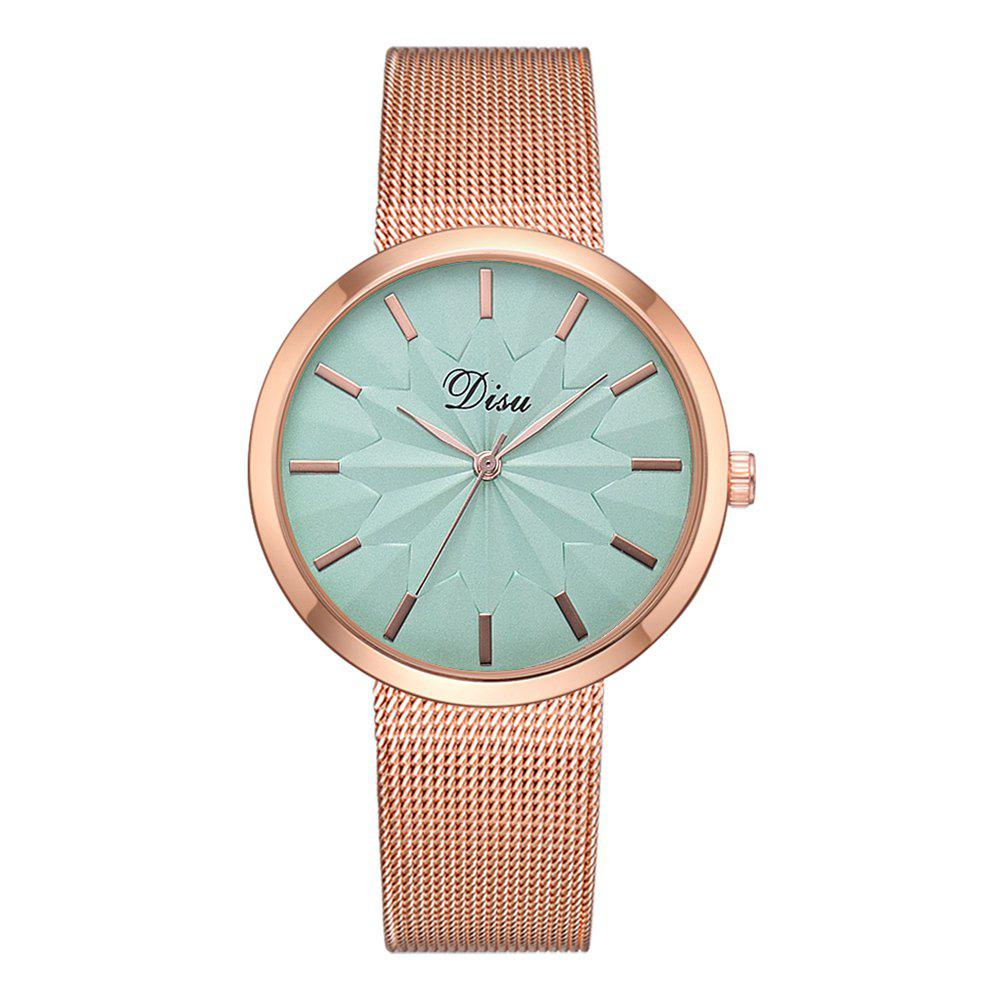 Outfit Disu Ds180 Fashion Simple Mesh Strap Casual Ladies Watch