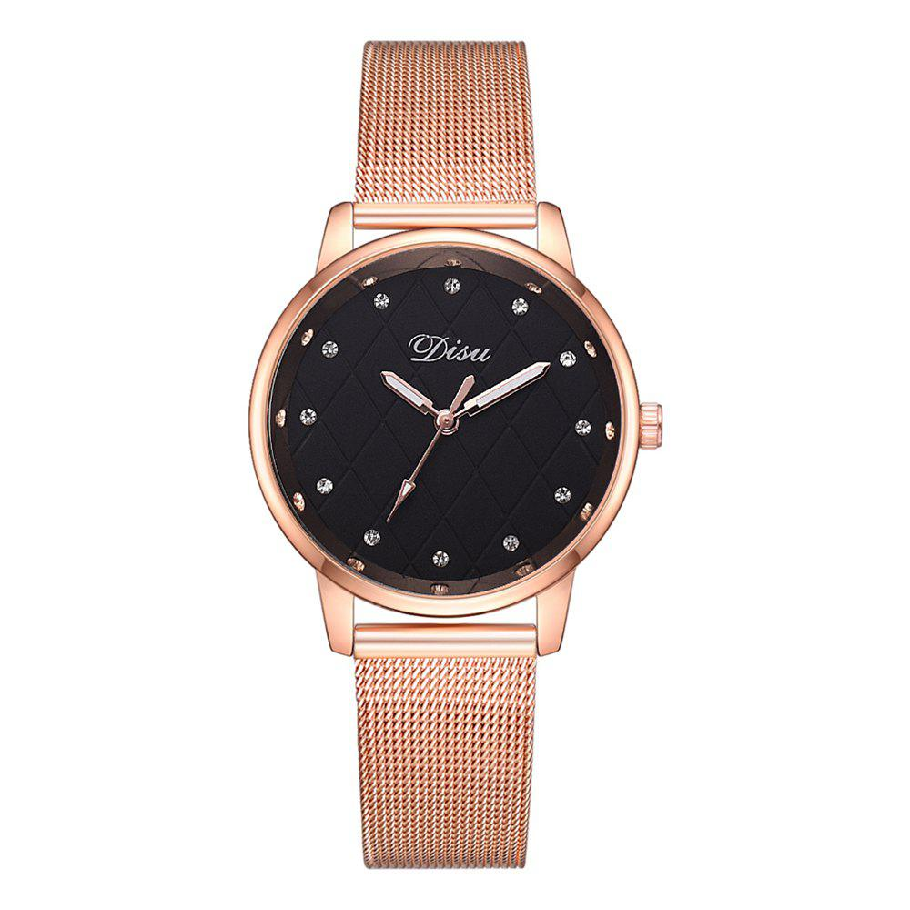 Shops Disu Ds181 Fashion Diamond-studded Simple Casual Ladies Watch