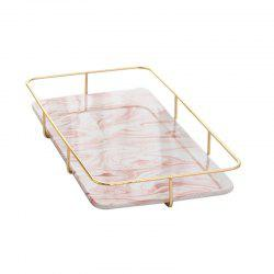 Nordic Marble Receiving Board Goods Box Tea Set Water Cup Tray -
