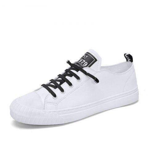 Summer New Handmade Microfiber Leather Upper Flat Casual Shoes for Men