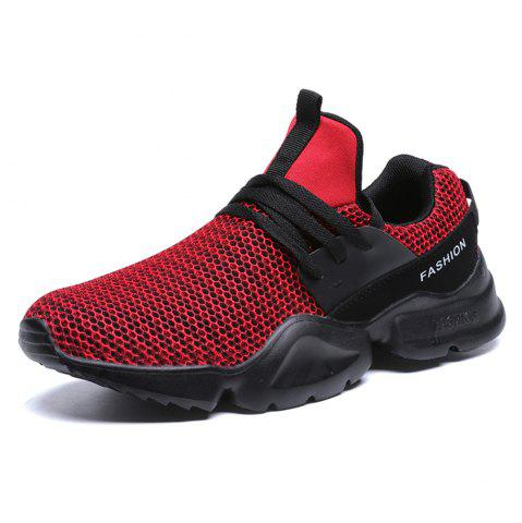 Ultra Light New Large Size Fly Mesh Casual Sports Shoes for Men