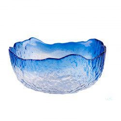 European Fruits and Vegetables Glass Salad Bowl -