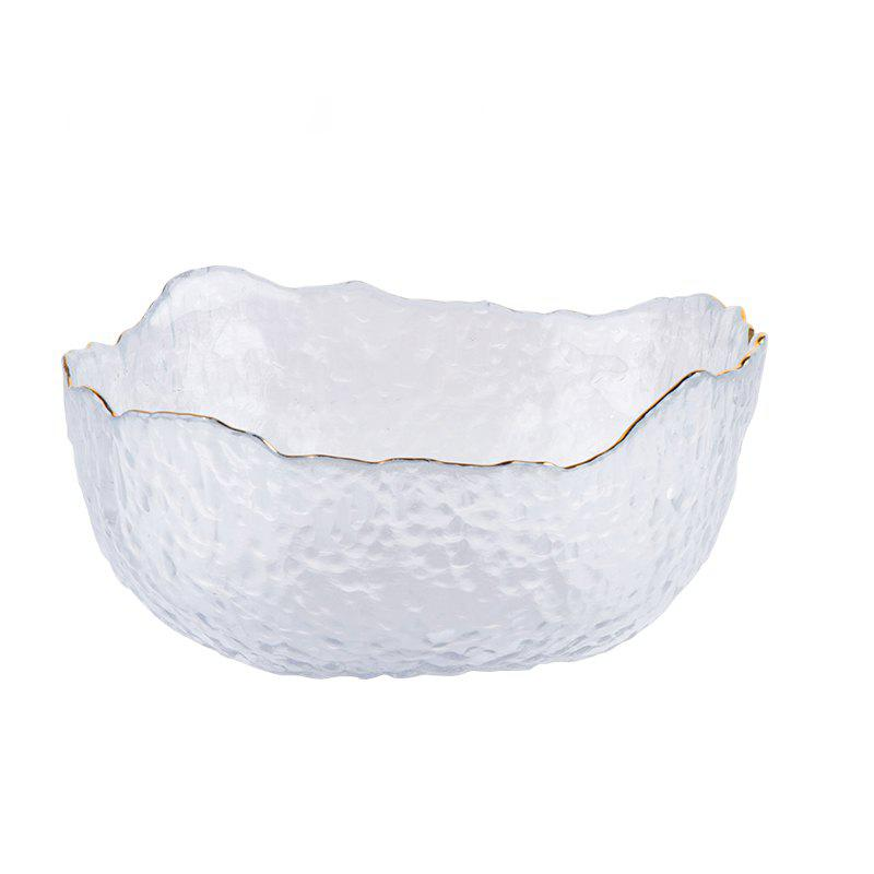 Discount European Fruits and Vegetables Glass Salad Bowl