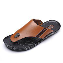 PU Sole Casual Fashion Trend Flip-flops for Men -
