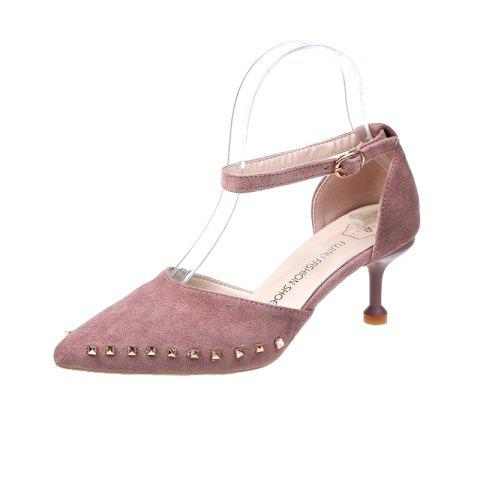 Summer Fashion Classic High Heeled Work Shoes for Women