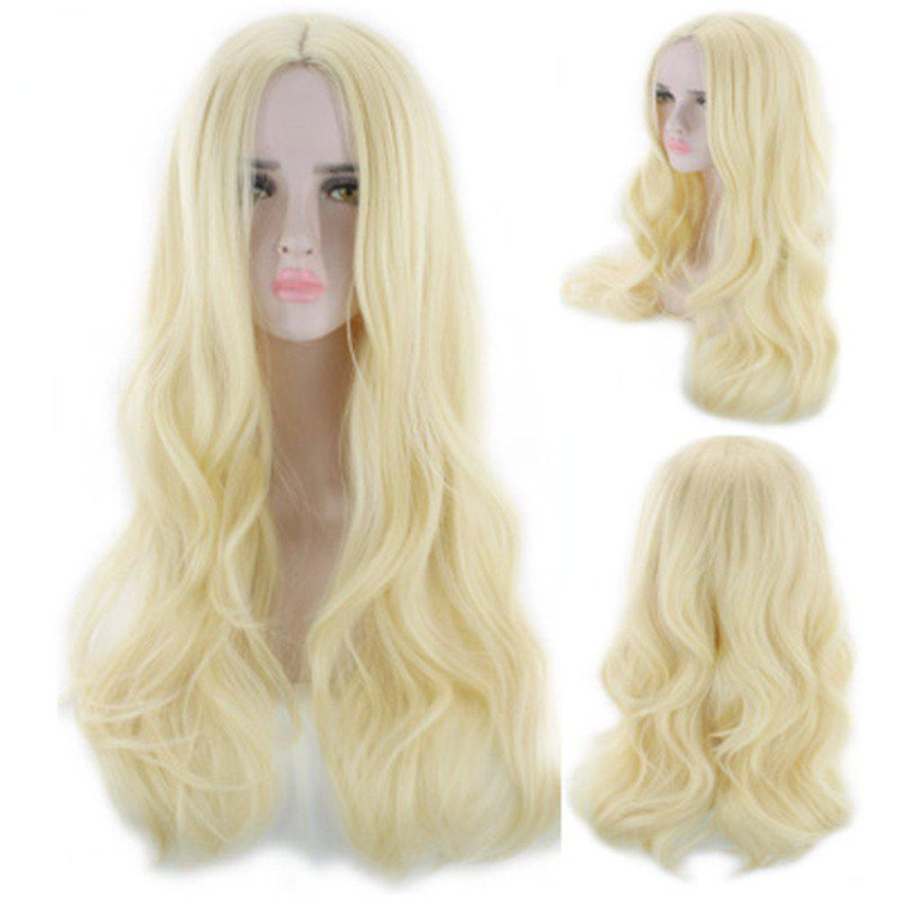 Fancy Color Curly Hair Gradation Hairstyle Cos Wig