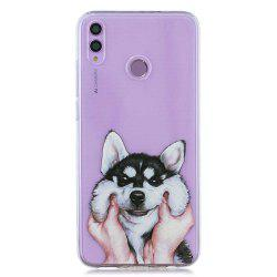 Dog Painting TPU Phone Case for Huawei Honor 8X -