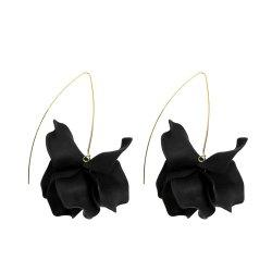 Fashion Flower Exaggerated Temperament Wild Resin Earrings -