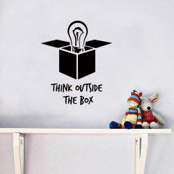 Words Quotes Removable PVC Wall Sticker -