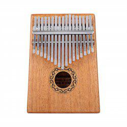 Portable 17 Keys Thumb Piano Tuner and Learning Guide -