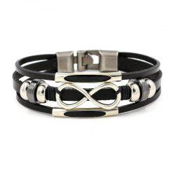 Stylish Leather All-in-one Multilayer Analemma Bracelet -