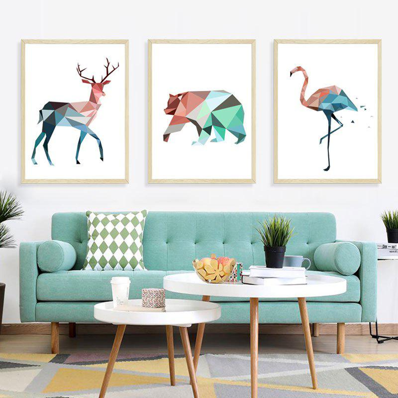 Shops Stereo Animal Removable PVC Window Film Wall Stickers