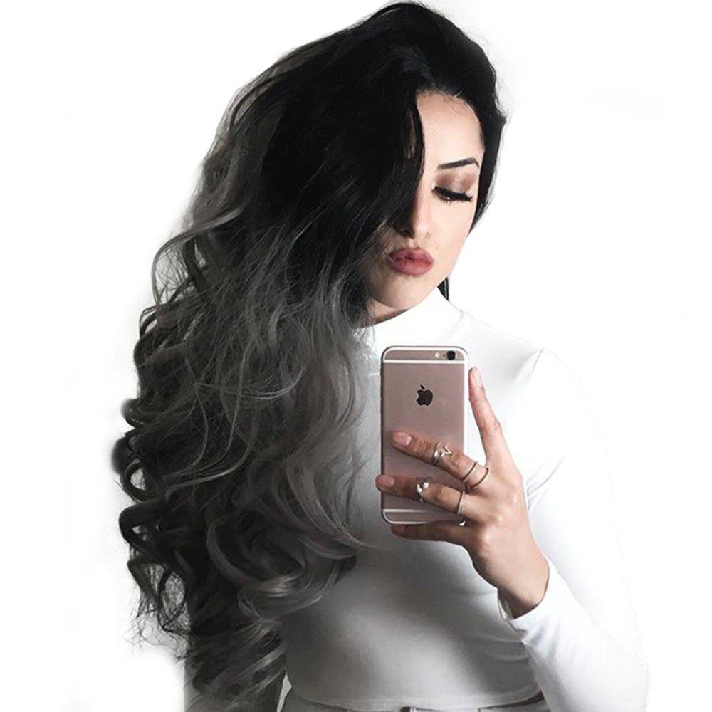Fashion Synthetic Gradient Ramp Big Wave Long Wig