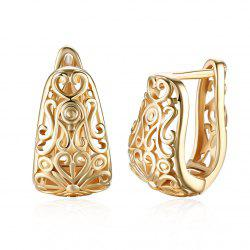 Embossed Romantic Style Earring Earclip -