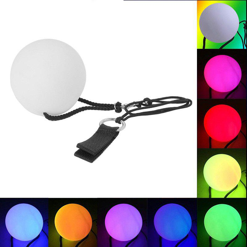 Online YouOKLight New Fashion RGB 3LED POI Thrown Balls for Professional Belly Dance Level Hand Props