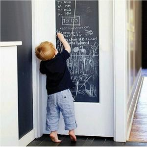 DIY Wall Stickers Removable Washable Chalkboard Blackboard Decals -