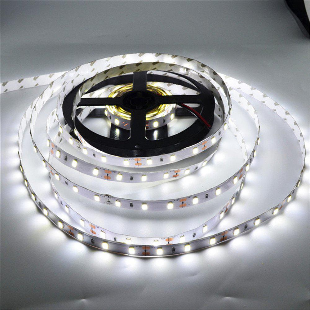 YWXLight 5M 5630SMD 300-LED LED Strip Light Decoration DC 12VHOME<br><br>Color: WHITE LIGHT; Brand: YWXLight; Type: LED Strip; Features: Low Power Consumption; Waterproof: No; Length: 5M; LED Type: SMD-5630; Number of LEDs: 300 LED; Actual Lumens: 7200-7300 LM; CCT/Wavelength: 2700-3200K,6000-6500K; Optional Light Color: Cold White,Warm White; Input Voltage: DC 12V; Rated Power (W): 78 W; Material: FPC;