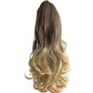 TODO 20 inch Ombre Claw 7-piece 16-clip Synthetic Hair Extensions - OMBRE 613H2403AHPINK2# 20INCH