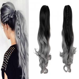 Greyblack 20inch todo 20 inch ombre claw 7 piece 16 clip todo 20 inch ombre claw 7 piece 16 clip synthetic hair extensions pmusecretfo Images
