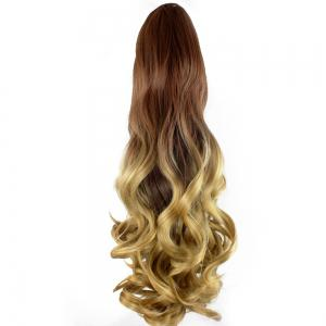 TODO 20 inch Ombre Claw Synthetic Clip-in Hair Extensions -