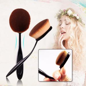 TODO 10pcs All in One Professional Oval Makeup Brushses -