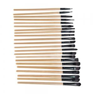 TODO 32pcs Professional Makeup Brushes with Carry Case - WOODEN COLOR