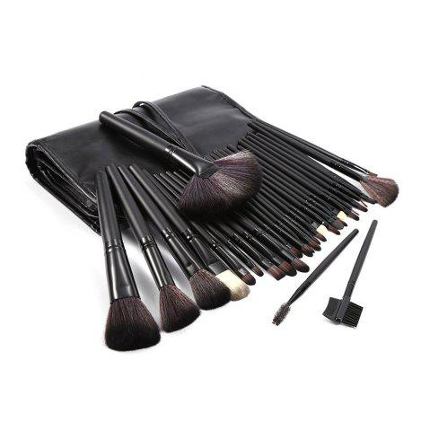Affordable TODO 32pcs Professional Makeup Brushes with Carry Case