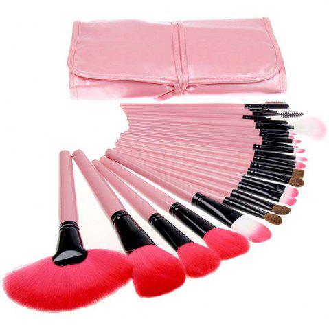 Hot TODO 24pcs High Quality Micro Fiber Makeup Brushes