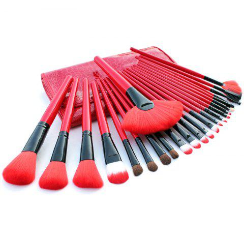 Shops TODO 24pcs High Quality Micro Fiber Makeup Brushes