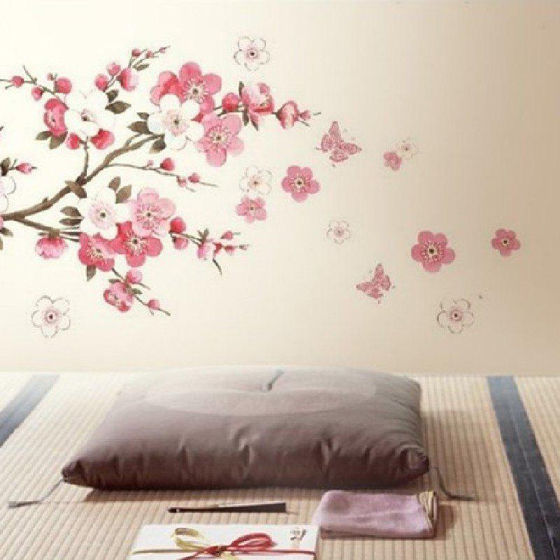 Delicieux Fashion YEDUO Plum Flower Bedroom Decal Art Decor Wall Sticker