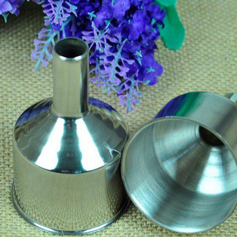 Outfits Macroart Stainless Steel Funnel - SILVER  Mobile