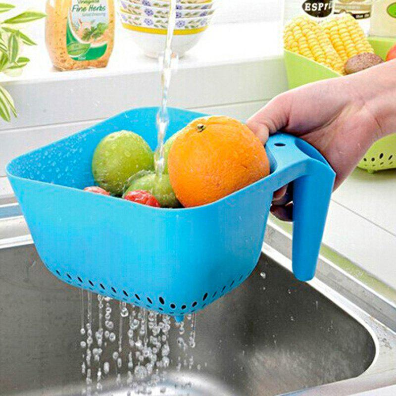 1PC Macroart Drain Basket for Fruits VegetablesHOME<br><br>Color: COLORMIX; Type: Other Kitchen Accessories; Material: Plastic;