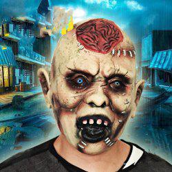 MCYH Halloween Horror Ghost Masks Spoof Moving Props -