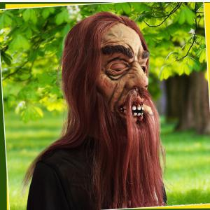 MCYH Latex Old Men Masks Halloween Party -