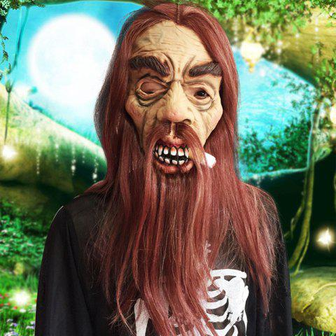 Online MCYH Latex Old Men Masks Halloween Party