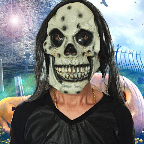 Fashion MCYH Scary Latex Halloween Makeup Skull Face Mask