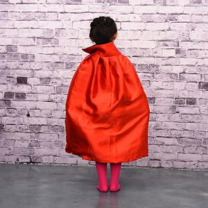 MCYH 569 Halloween Cosplay Witch Cloak Cape Cap Kids Christmas Party Show Costume - RED